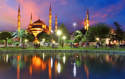 Modern recreation and ancient ruins enliven your last minute first class flights to Turkey. - IFlyFirstClass